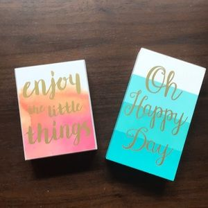 Home Accents Party Decor Quote Signs
